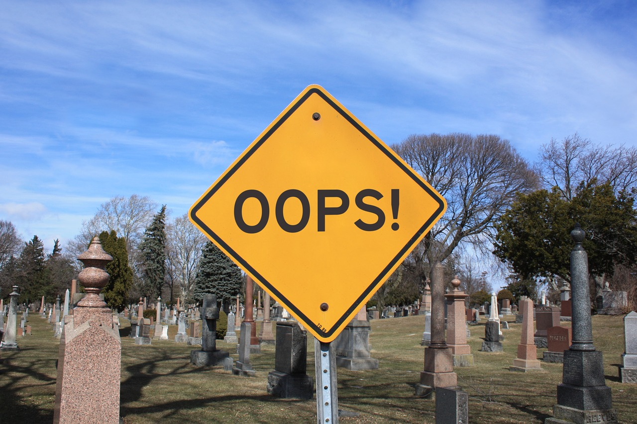 oops sign