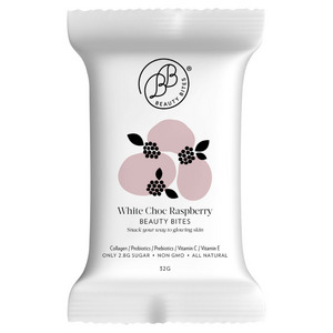 Beauty Bites White Choc Raspberry