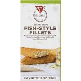 Fry's Vegan Fishless Fillet 240g