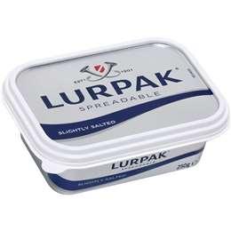 Lurpak Slightly Salted Spreadable Butter 250g