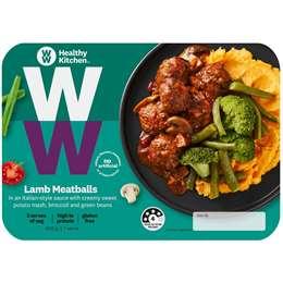 Weight Watchers Healthy Kitchen Lamb Meatballs 400g