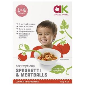 Annabel Karmel Frozen Spaghetti & Meatballs 1to4 years