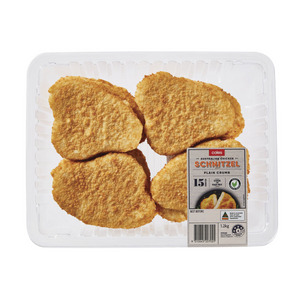 Coles RSPCA Approved Chicken Breast Schnitzel Plain Crumb