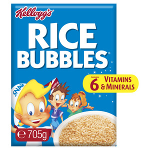 Kellogg's Rice Bubbles Puffed Rice Breakfast Cereal
