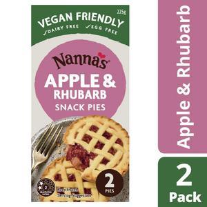 Nanna's Rhubarb & Apple Snack Pies