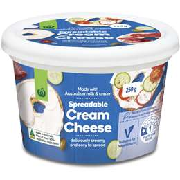 Woolworths Cream Cheese 250g