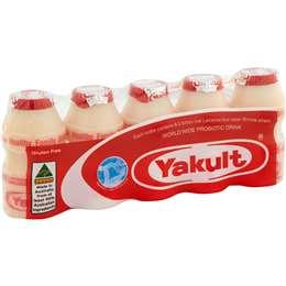Yakult Probiotic Drink 5x65ml