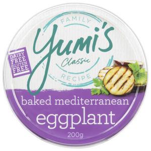 Yumi's Gluten Free Classic Baked Mediterranean Eggplant Dip