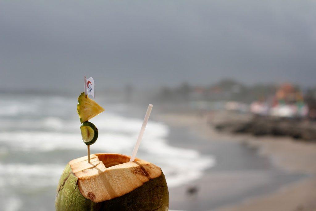 coconut and beach
