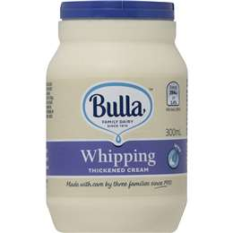 Bulla Whipping Cream 300ml