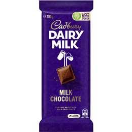 Cadbury Dairy Milk Chocolate 180g