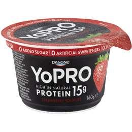 Danone Yopro Yoghurt Strawberry 160g