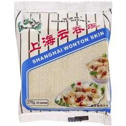 Double Merino Pastry Wonton Skin Shanghai 40pk 270g