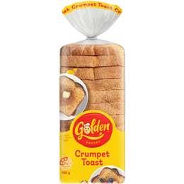 Golden Crumpet Toast 700g