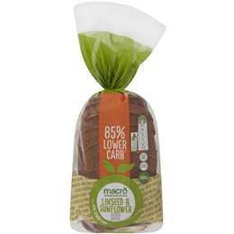 Macro Linseed & Sunflower Low Carb Loaf 500g