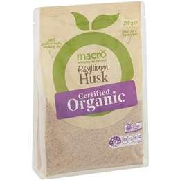 Macro Organic Psyllium Husk 250g