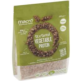 Macro Textured Vegetable Protein 200g