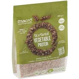 Macro Textured Vegetable Protein 200g