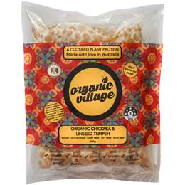 Organic Village Chickpea Tempeh 300g