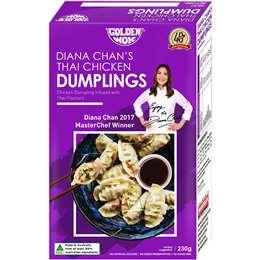 Golden Wok Diana Chan Thai Chicken Dumpling 230g