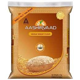 Aashirvaad Whole Wheat Atta Flour 5kg