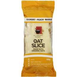 All Natural Bakery Bars Oat Slice Yog Peach & Mango 100g