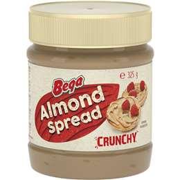 Bega Almond Spread Crunchy 325g