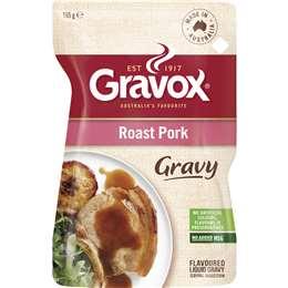 Gravox Gravy Liquid Roast Pork 165g