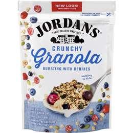 Jordans Bursting With Berries Crunchy Oat Granola 500g