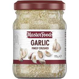 Masterfoods Finely Crushed Garlic 170g