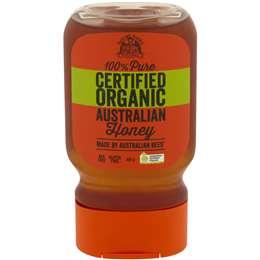 Nature Nate's 100% Pure Organic Australian Raw & Unfiltered Honey 400g