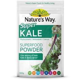 Nature's Way Super Kale Powder Vegan 100g
