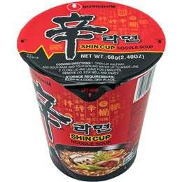 Nong Shim Shin Cup Noodle Soup 68g