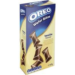 Oreo Wafer Bites Vanilla 47g