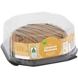 Woolworths Mud Cake Caramel 600g