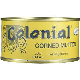 Colonial Lamb Corned Mutton Halal 340g