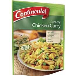 Continental Recipe Base Creamy Chicken Curry 30g