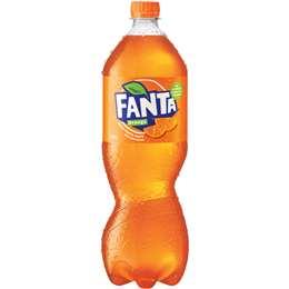 Fanta Orange Bottle 1.25l