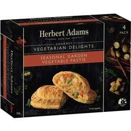 Herbert Adams Pasties Seasonal Garden & Vegetable 700g