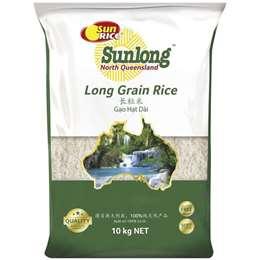 Sunrice Sunlong Sunlong Long Grain Rice 10g